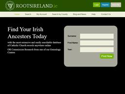 RootsIreland.ie shopping