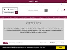 Kilkenny Shop gift card purchase