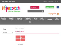 Hopscotch Kids gift card purchase