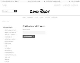 Wolle Rödel gift card balance check