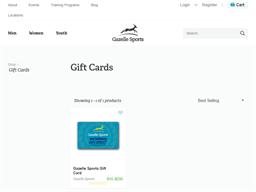 Gazelle Sports gift card purchase
