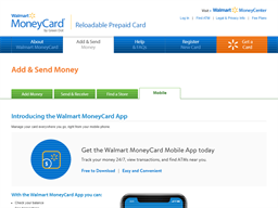 Walmart Money Card gift card balance check