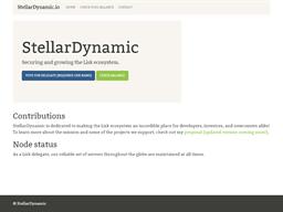 Stellar Dynamic shopping
