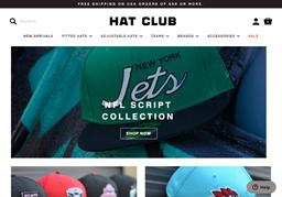 Hat Club shopping