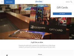 Beau Rivage Resort & Casino gift card purchase