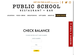 PS on Tap gift card balance check