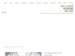 Ballilogue Kilkenny gift card purchase