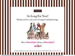 Henri Bendel shopping