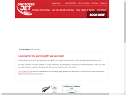 Shotover Jet gift card purchase