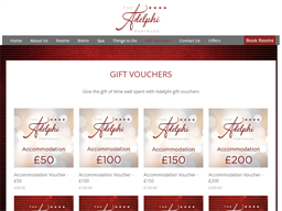 Adelphi Portrush gift card purchase