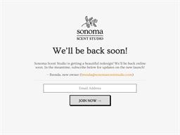 Sonoma Scent Studio shopping