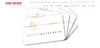 Stadt-Galerie Hameln gift card purchase