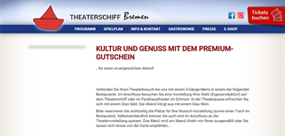 Theaterschiff Bremen gift card purchase