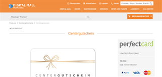 dez Einkaufszentrum Kassel gift card purchase