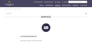 Ettlinger Tor Karlsruhe gift card purchase