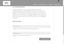 Lausitz Center Hoyerswerda gift card balance check