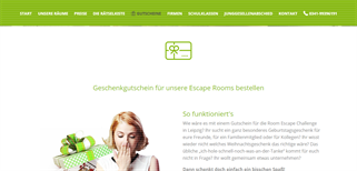 Room Escape Challenge Leipzig gift card purchase