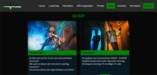Lasertag Arena Leipzig gift card purchase