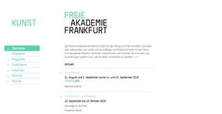 Freie Kunstakademie Frankfurt shopping