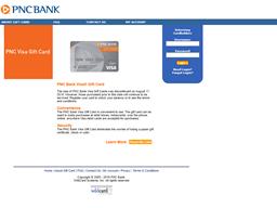 PNC Bank gift card balance check