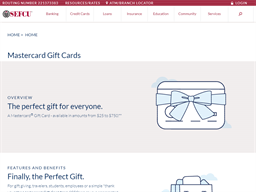 SEFCU gift card purchase