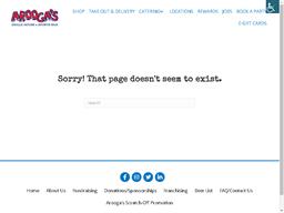 Arooga's Grille House & Sports Bar gift card balance check