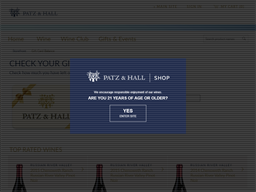 Patz & Hall gift card balance check
