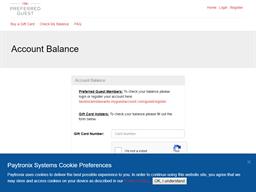 Blackhawk Grille gift card balance check