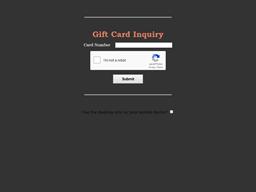 Jeff Ruby Precinct gift card purchase