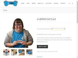 Arc Barks gift card purchase
