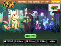 Animal Jam shopping