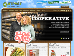 Outpost Natural Foods shopping