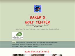 Baker's Golf Center shopping