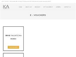 Yauatcha gift card purchase