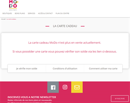 MODO - Moisselle Domont gift card purchase