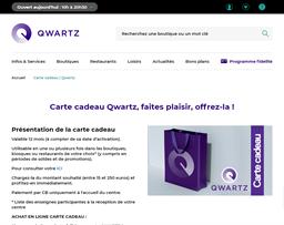 Qwartz gift card purchase