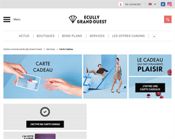 Ecully Grand Ouest gift card purchase