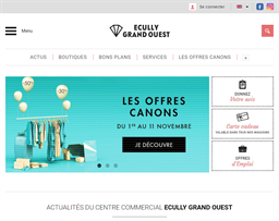 Ecully Grand Ouest shopping