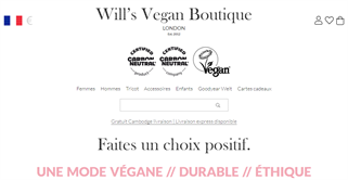 Will's Vegan Boutique shopping