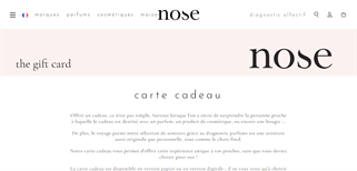 nose Paris gift card purchase