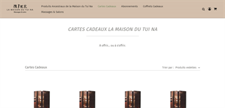 La maison du tui na gift card purchase
