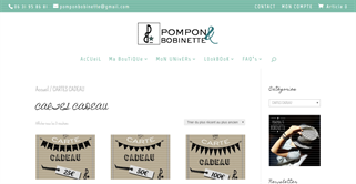 Pompon&Bobinette gift card purchase