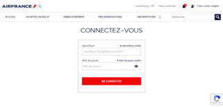 Air France Luxembourg gift card balance check