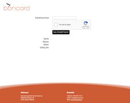 boncard gift card balance check