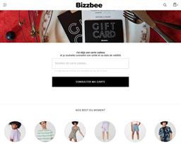 Bizzbee gift card balance check