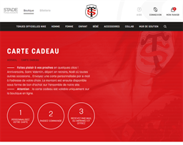 Stade Toulousain gift card purchase