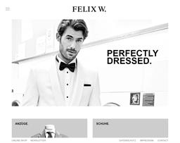 Felix W. shopping