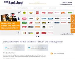CEB Bankshop gift card purchase