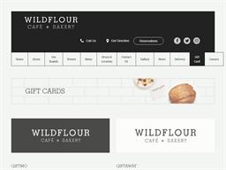 Wildflour Café + Bakery gift card purchase