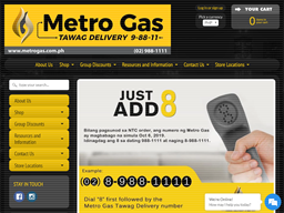 Metro Gas Tawag Delivery shopping